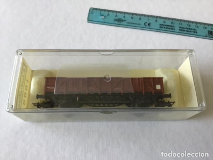 Trenes Escala: Electrotren H0 Vagón borde medio mercancias de Renfe. Sin uso. - Foto 2 - 210827131