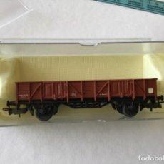 Trenes Escala: ELECTROTREN H0 VAGÓN BORDE MEDIO MERCANCIAS DE RENFE. SIN USO.. Lote 210827131