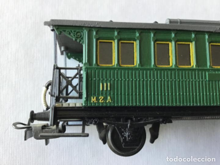 Trenes Escala: Electrotren H0 Vagón pasajeros tercera MZA Castellón Reus Mataró. De vitrina. - Foto 4 - 210827506