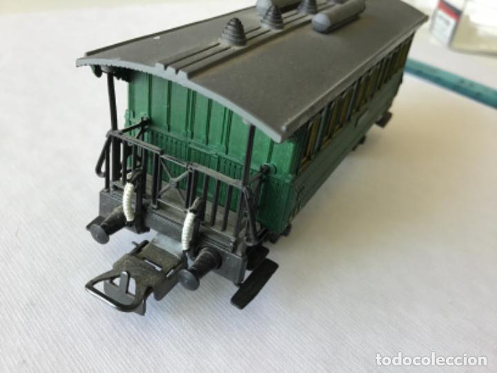 Trenes Escala: Electrotren H0 Vagón pasajeros tercera MZA Castellón Reus Mataró. De vitrina. - Foto 5 - 210827506