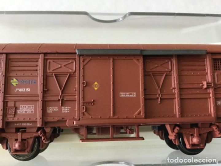 Trenes Escala: Electrotren H0 Vagón mercancías Renfe cerrado. Ref. 1378. De vitrina. - Foto 2 - 210827985