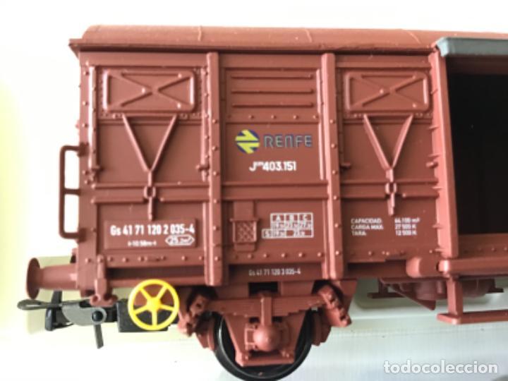 Trenes Escala: Electrotren H0 Vagón mercancías Renfe cerrado. Ref. 1378. De vitrina. - Foto 4 - 210827985