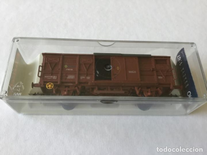 Trenes Escala: Electrotren H0 Vagón mercancías Renfe cerrado. Ref. 1378. De vitrina. - Foto 6 - 210827985