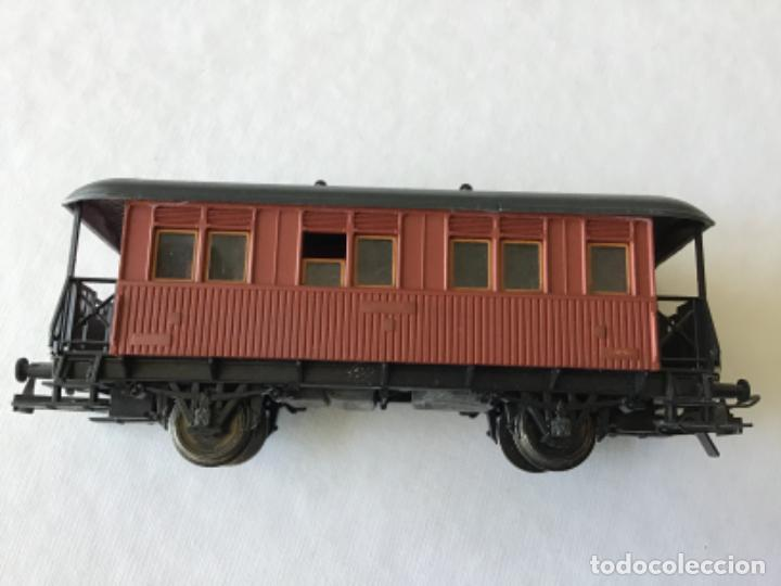 Trenes Escala: Electrotren H0. Vagón pasajeros de época. Precioso, de coleccionista. - Foto 2 - 210828232