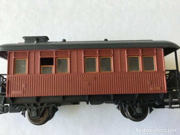 Trenes Escala: Electrotren H0. Vagón pasajeros de época. Precioso, de coleccionista. - Foto 3 - 210828232