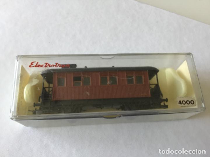 Trenes Escala: Electrotren H0. Vagón pasajeros de época. Precioso, de coleccionista. - Foto 4 - 210828232