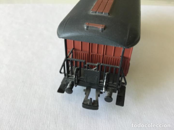 Trenes Escala: Electrotren H0. Vagón pasajeros de época. Precioso, de coleccionista. - Foto 7 - 210828232