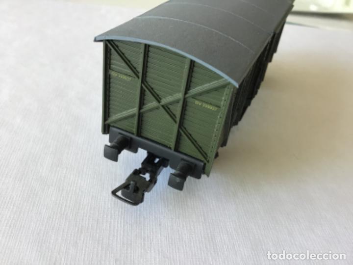 Trenes Escala: Electrotren H0. Furgón mercancías dos ejes Renfe. Ref. 1343. De vitrina - Foto 5 - 210828447