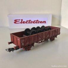 Trenes Escala: ELECTROTREN VAGÓN BORDES BAJOS EKKLOS. Lote 211479080