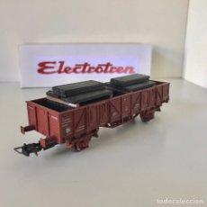 Trenes Escala: ELECTROTREN VAGÓN DE BORDES BAJOS EKKLOS. Lote 211479655