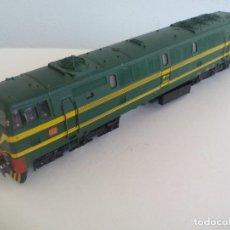 Trenes Escala: ELECTROTREN H0 LOCOMOTORA DIESEL ALCO 333-083-4 RENFE.. Lote 211679851