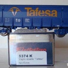 Trenes Escala: VAGÓN ABIERTO TAFESA TIPO EALOS RENFE DE ELECTROTREN REF. 5374. Lote 225031960
