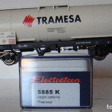 Trains Échelle: VAGÓN CISTERNA DE RENFE TRAMESA DE ELECTROTREN REF. 5885. Lote 211877306