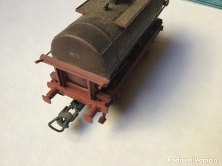 Trenes Escala: H0 Electrotren Vagón cisterna envejecido por profesional. Precioso. Sin uso - Foto 2 - 214748541