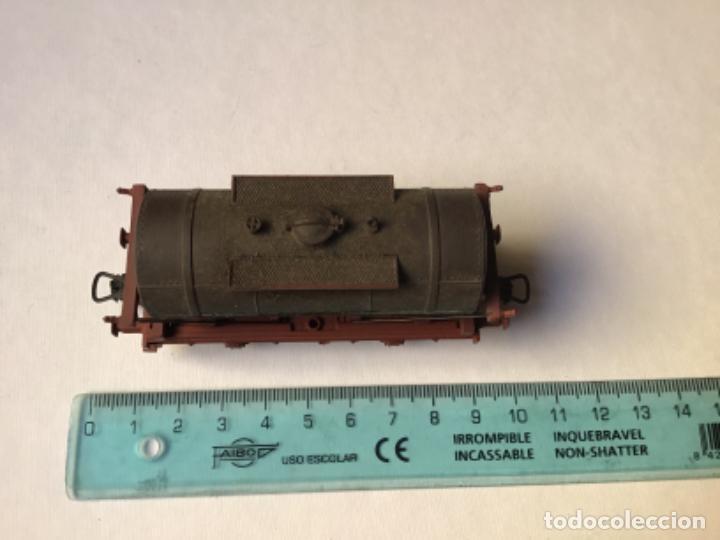 Trenes Escala: H0 Electrotren Vagón cisterna envejecido por profesional. Precioso. Sin uso - Foto 3 - 214748541