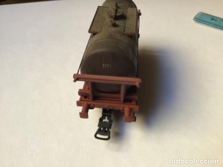 Trenes Escala: H0 Electrotren Vagón cisterna envejecido por profesional. Precioso. Sin uso - Foto 4 - 214748541