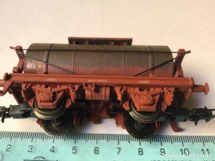 Trenes Escala: H0 Electrotren Vagón cisterna envejecido por profesional. Precioso. Sin uso - Foto 5 - 214748541