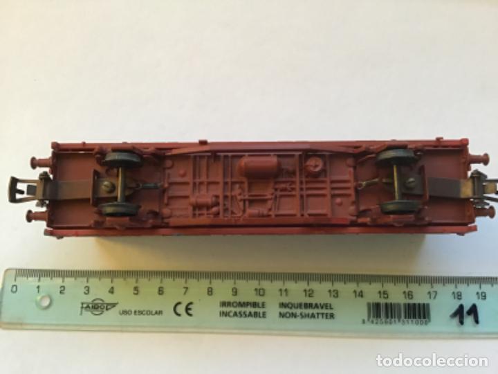 Trenes Escala: Electrotren H0. Vagón Mercancias contenedor transfesa. Precioso. - Foto 4 - 214859545