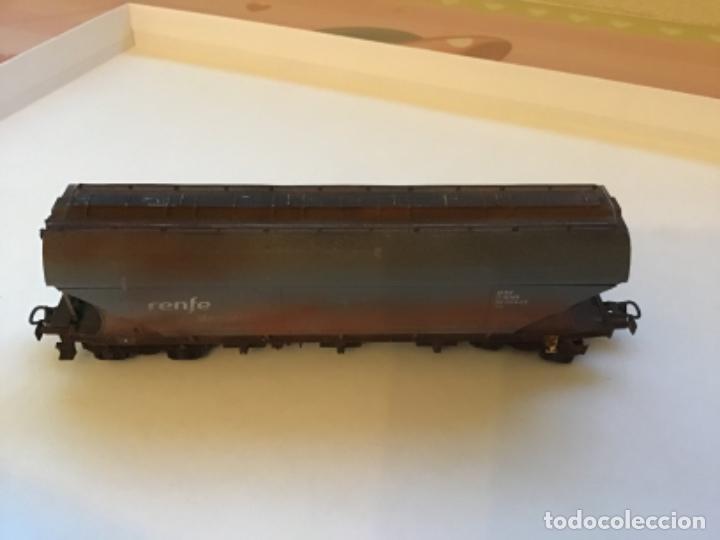 ELECTROTREN H0. VAGÓN MERCANCÍAS RENFE ENVEJECIDO POR PROFESIONAL DE DIORAMAS. (Juguetes - Trenes Escala H0 - Electrotren)