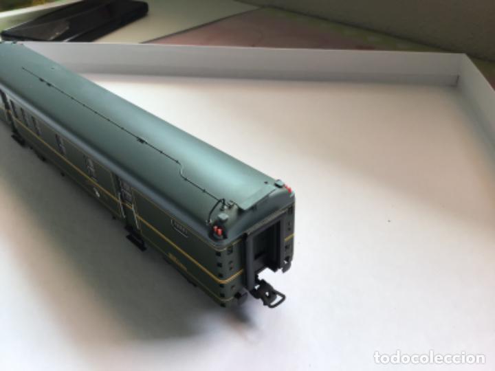 Trenes Escala: Electrotren h0. Vagón furgón correos verde dgdc época III. Precioso. - Foto 4 - 214912761