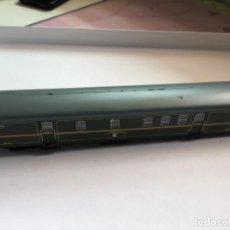 Trenes Escala: ELECTROTREN H0. VAGÓN FURGÓN CORREOS VERDE DGDC ÉPOCA III. PRECIOSO.. Lote 214912761
