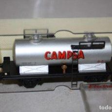 Trenes Escala: ANTIGUO VAGÓN CISTERNA CAMPSA DE ELECTROTREN.. Lote 215233260