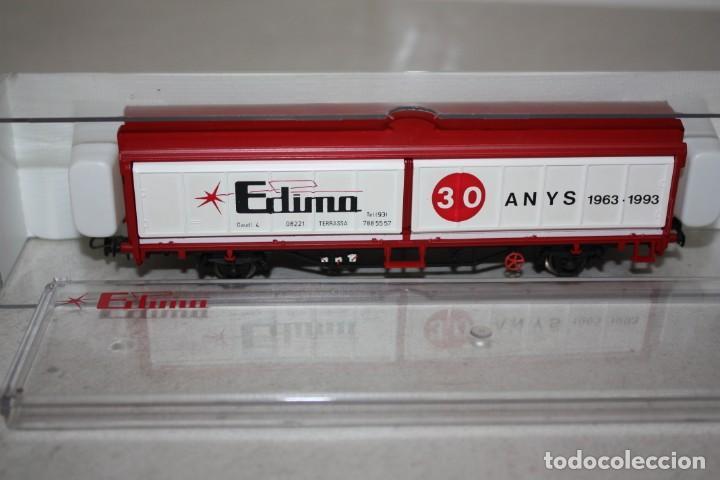 ANTIGUO A ESTRENAR VAGÓN DE EDIMA DE 1993 (Juguetes - Trenes Escala H0 - Electrotren)