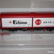 Trenes Escala: ANTIGUO A ESTRENAR VAGÓN DE EDIMA DE 1993. Lote 215237395