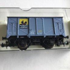Trenes Escala: ELECTROTREN HO. VAGÓN NITRATO DE CHILE. REF. 1959. DE MUSEO.. Lote 216981998