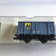 Trenes Escala: ELECTROTREN H0. VAGÓN DE MERCANCÍAS NITRATO DE CHILE. REF 1959. PRECIOSO, DE MUSEO.. Lote 216982886