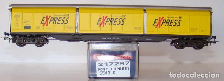ELECTROTREN VAGÓN PUERTAS CORREDIZAS DE LA DB EXPRESS REF. 5543 ESCALA H0 (Juguetes - Trenes Escala H0 - Electrotren)