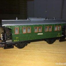 Comboios Escala: VAGON DE VIAJEROS TOLEDO - ELECTROTREN - MADRID - ESPAÑA. Lote 218322932