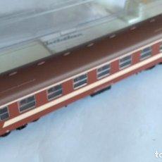 Trenes Escala: ELECTROTREN H0 VAGÓN COCHE PASAJEROS RENFE, EDICIÓN CLUB AMIGOS ELECTROTREN ,NUEVO EN CAJA.. Lote 218540728