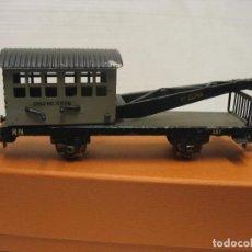 Trenes Escala: ELECTROTREN DE CHAPA GRUA RENFE 1º EPOCA. Lote 218641097