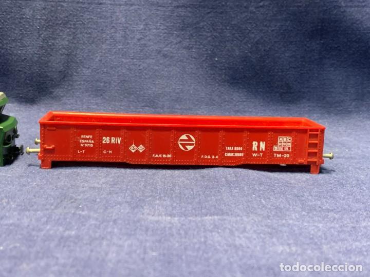 CARCASA VAGON MERCANCIAS ROJO RENFE N 5715 ELECTROTREN H0 3X15,5X2,5CMS (Juguetes - Trenes Escala H0 - Electrotren)