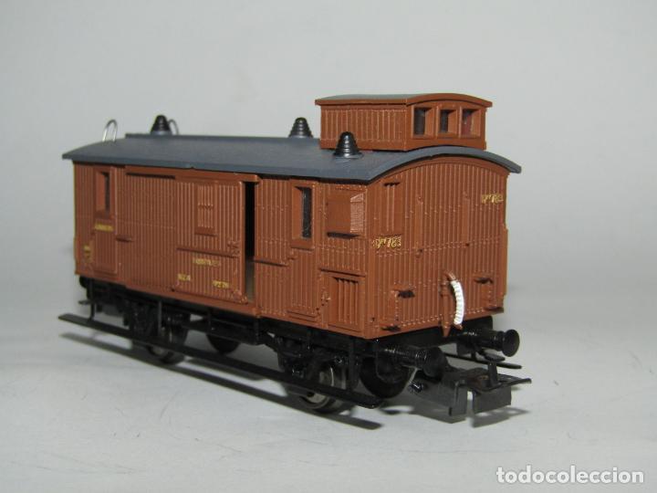 Trenes Escala: Antiguo Furgón de Equipajes y Correos en Escala *H0* de ELECTROTREN - Foto 2 - 219507287