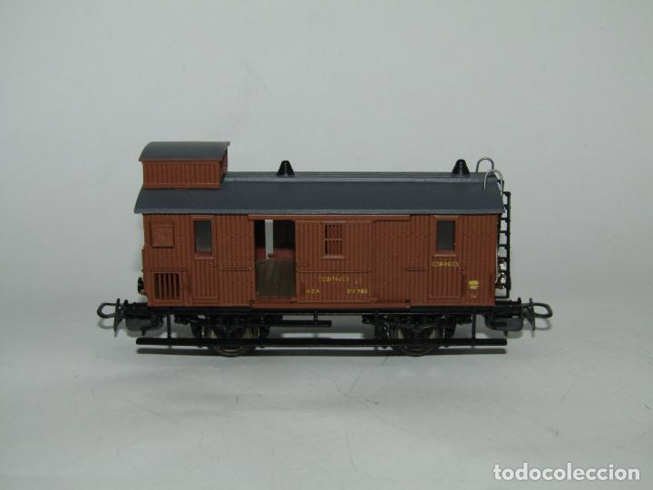 Trenes Escala: Antiguo Furgón de Equipajes y Correos en Escala *H0* de ELECTROTREN - Foto 3 - 219507287