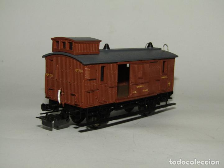 Trenes Escala: Antiguo Furgón de Equipajes y Correos en Escala *H0* de ELECTROTREN - Foto 4 - 219507287