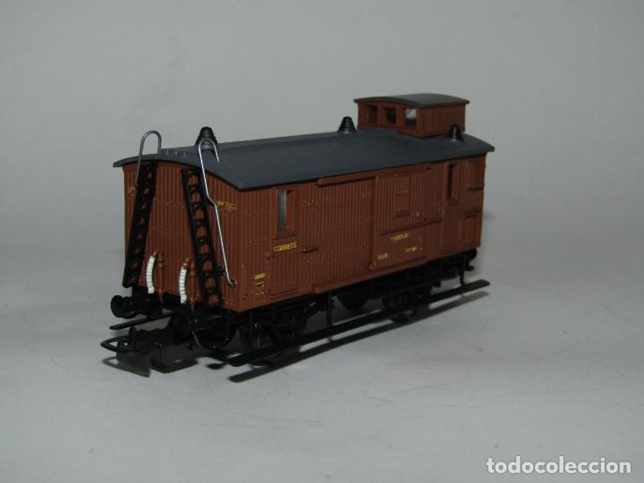 Trenes Escala: Antiguo Furgón de Equipajes y Correos en Escala *H0* de ELECTROTREN - Foto 8 - 219507287
