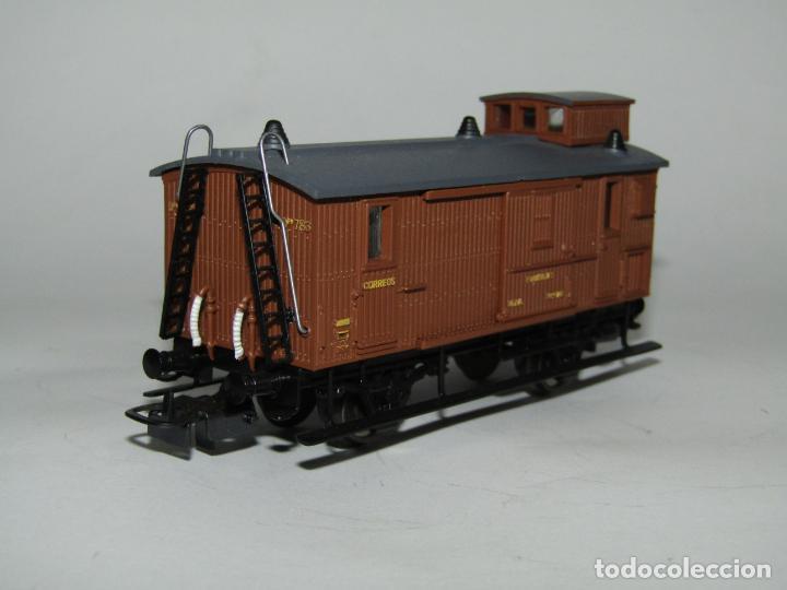 Trenes Escala: Antiguo Furgón de Equipajes y Correos en Escala *H0* de ELECTROTREN - Foto 11 - 219507287