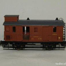 Trenes Escala: ANTIGUO FURGÓN DE EQUIPAJES Y CORREOS EN ESCALA *H0* DE ELECTROTREN. Lote 219507287