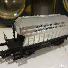 Trains Échelle: ELECTROTREN H0. VAGÓN MINISTERIO AGRICULTURA. SERVICIO NACIONAL DE CEREALES. Lote 219588308