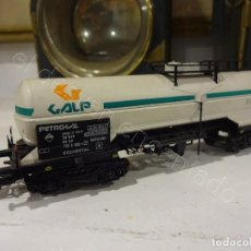 Trains Échelle: ELECTROTREN H0. VAGÓN CISTERNA GALP. Lote 219588735