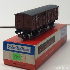 Trenes Escala: ELECTROTREN H0 1310- CERRADO R.N. (214) MARRÓN RENFE. Lote 219636053
