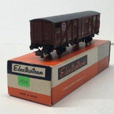 Trenes Escala: ELECTROTREN H0 1310- CERRADO R.N. (214) MARRÓN RENFE. Lote 219637482