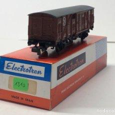 Trenes Escala: ELECTROTREN H0 1310- CERRADO R.N. (214) MARRÓN RENFE. Lote 219637550