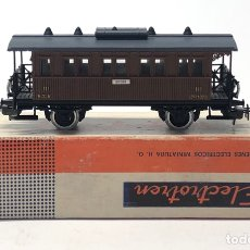 Trenes Escala: ELECTROTREN H0 1500 - VAGÓN MZA DOS EJES COSTA CORTO VIAJEROS CON BALCONCILLOS. Lote 219637776