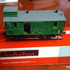 Trenes Escala: FURGON EQUIPAJES VERDE M.Z.A. ELECTROTREN PUERTAS CORREDERAS RENFE H0 HO. Lote 221154548