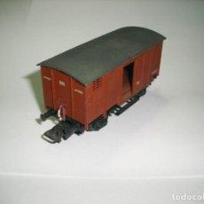 """Trenes Escala: ELECTROTREN REF 805 VAGÓN CERRADO TIPO """"J"""". Lote 222242307"""