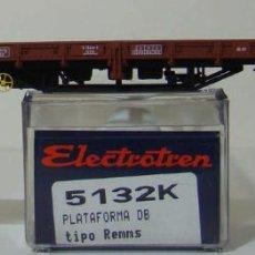 Trenes Escala: VAGON PLATAFORMA DE LA DB REF: 5132 ESCALA H0. Lote 222505348